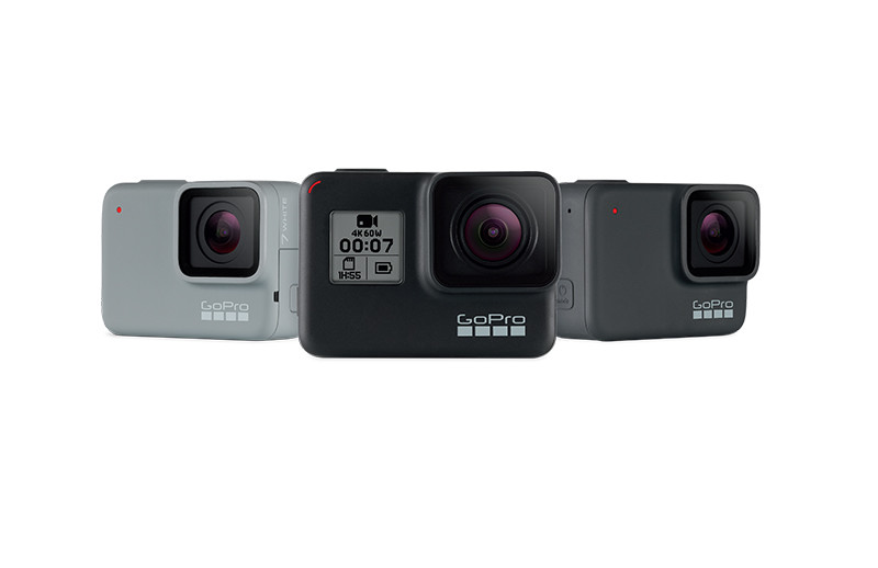 Meet The GoPro Lineup: Hero7 Silver and Hero7 White