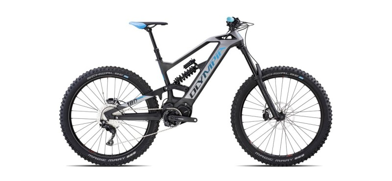 Hammer, a New High-Performance Enduro e-MTB with a long range Power Unit