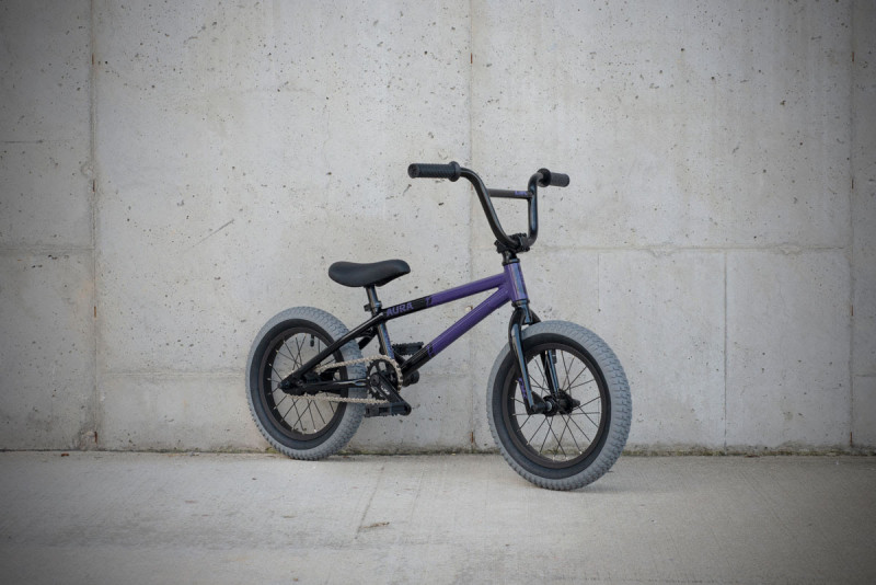 "The DK Aura 14"" is the perfect starting point for young riders, and it's all about BMX fun"