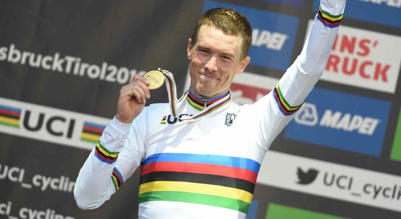 Dennis Crowned Time Trial World Champion in Innsbruck