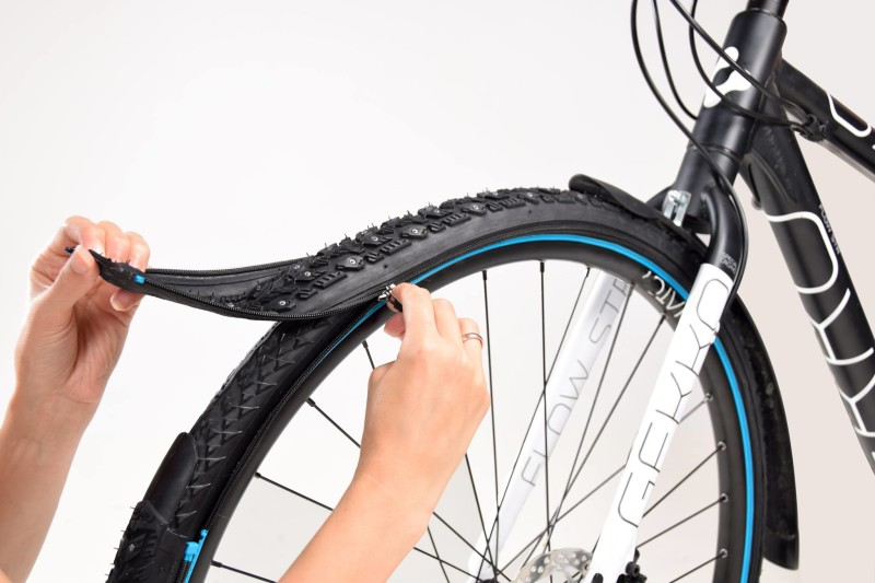 reTyre, the World's First Zip-On Bicycle Tire System has arrived