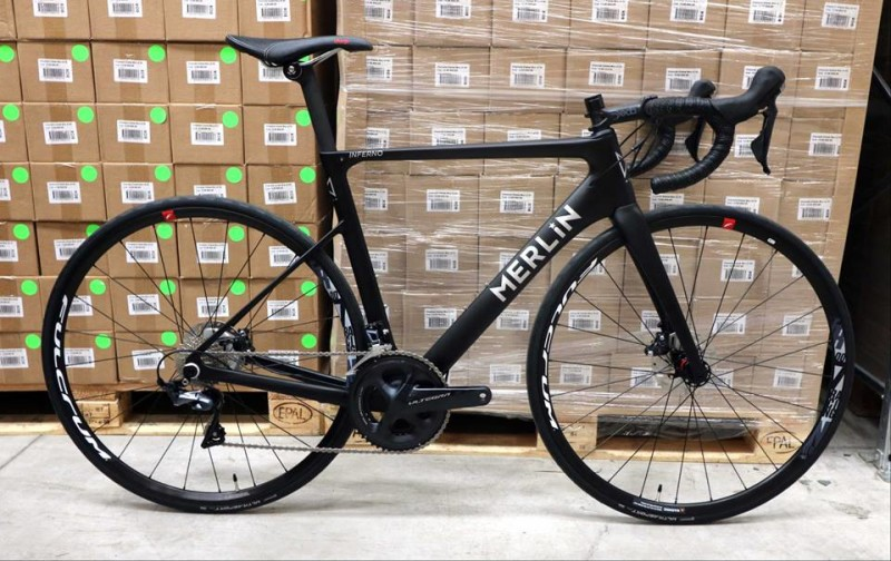 Merlin launched the New Inferno Ultegra Disc Carbon Road Bike