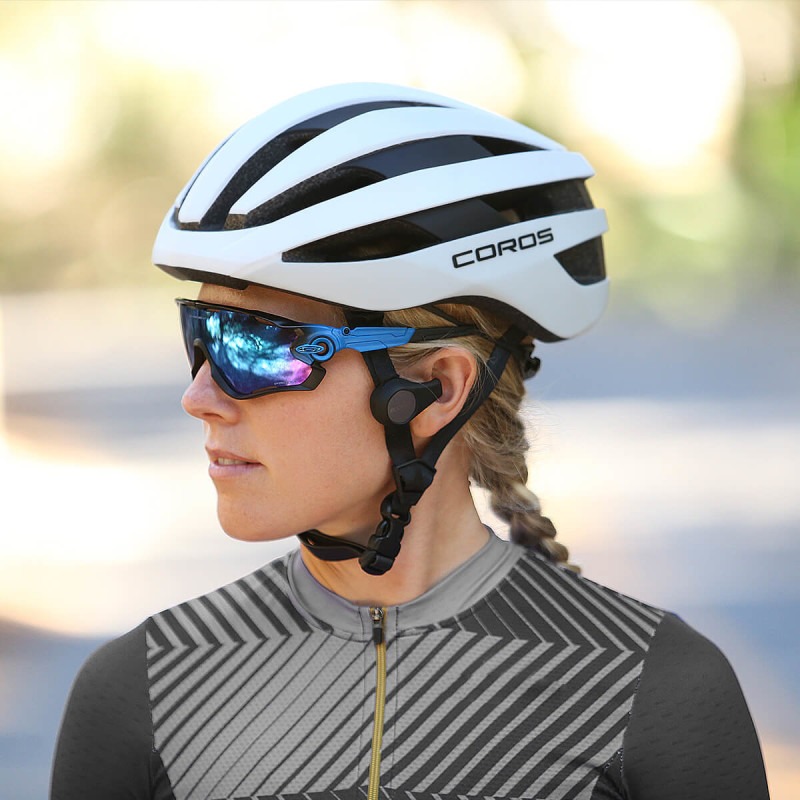 Introducing SafeSound, Coros's Lightest Road Helmet ever