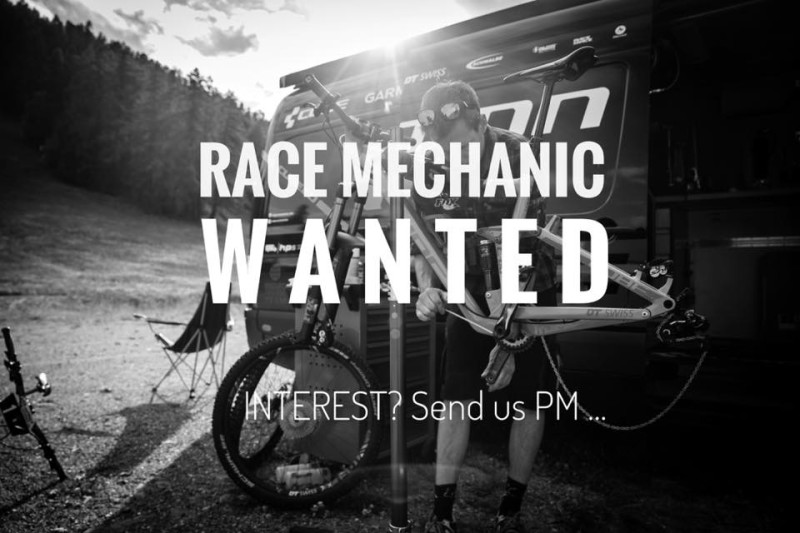Job Offer by Cube Action Team - Race Mechanic