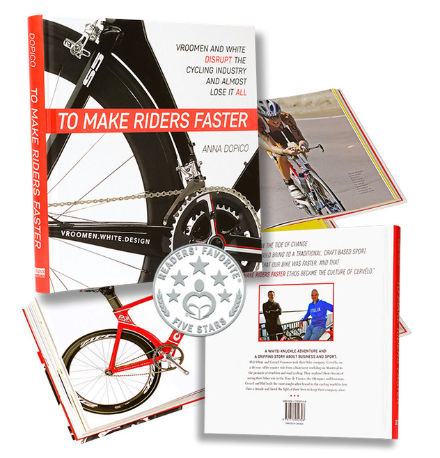 To Make Riders Faster - New Book by Anna Dopico