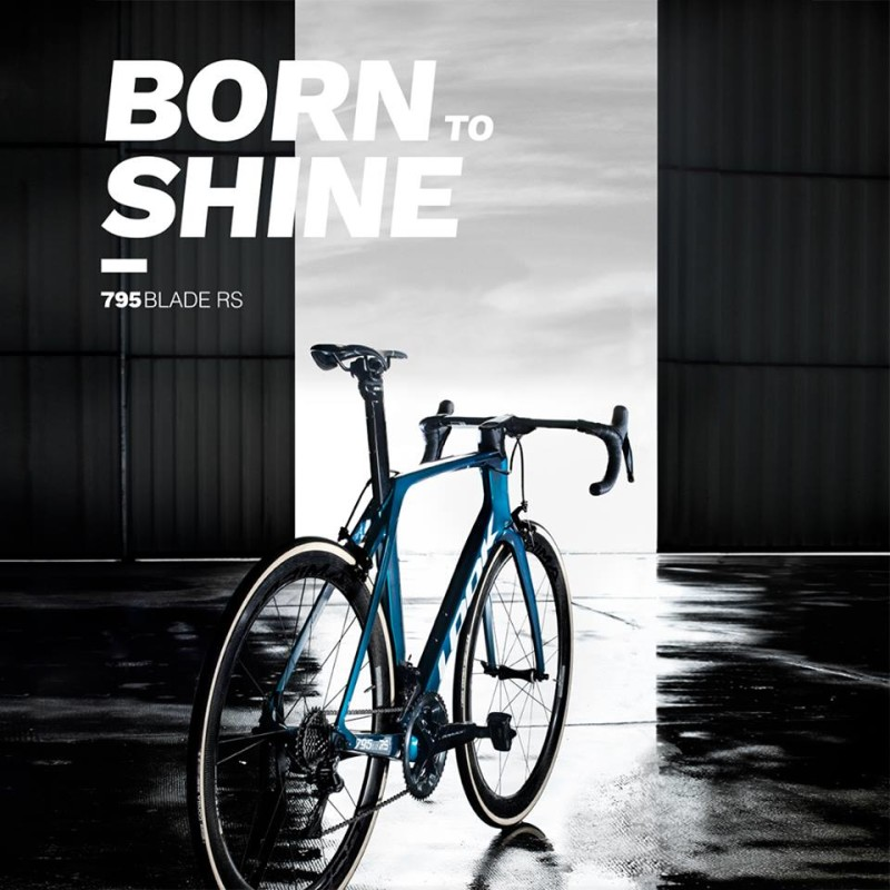 Born to shine - Look 795 Blade RS