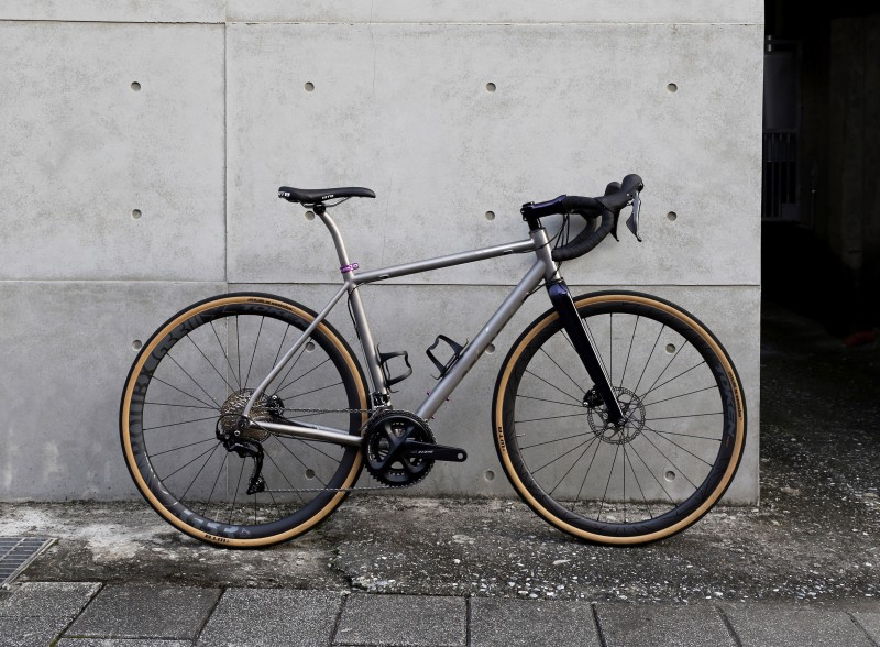 WOHO launched Double Ace Steel & Ti - the All-Road Gravel Frames