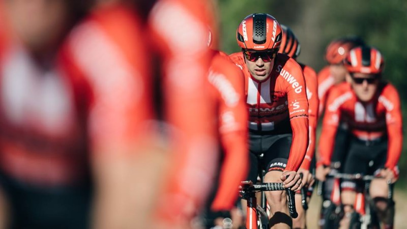 Team Sunweb welcomes Lazer Helmets as New Technical Partner