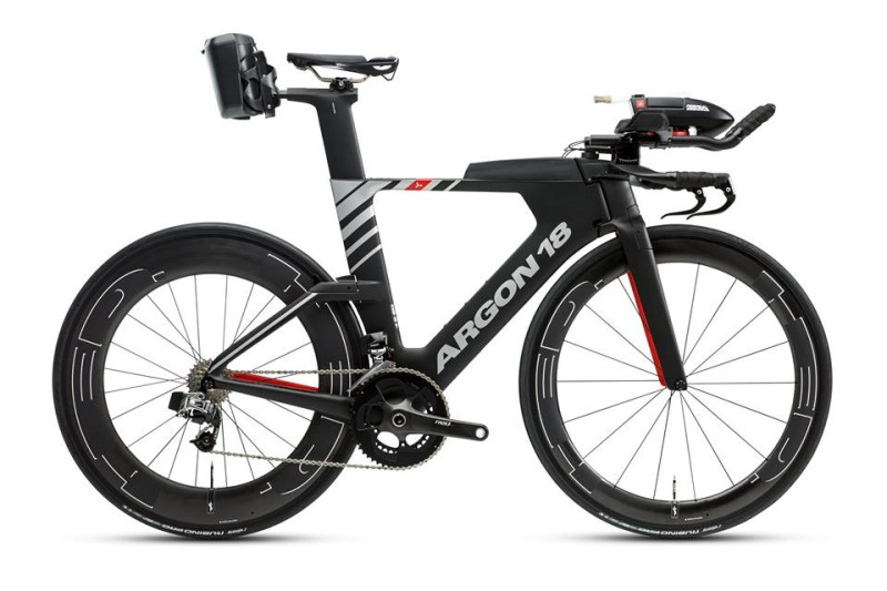 New E-119 Tri+ Triathlon Bike from Argon 18