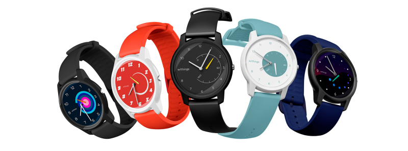 Withings launches Move, an Ultra-Stylish, Affordable and Customizable Activity and Sleep Tracking Watch Collection