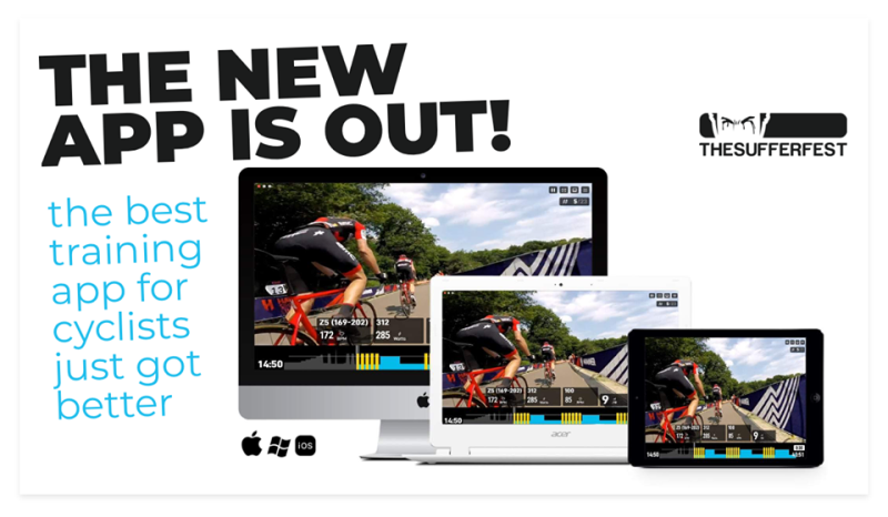 The New Sufferfest App: New Look, New Features, New Workouts