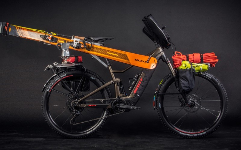Approach is part of the Journey – Discover Scott Ski-Touring E-Bike