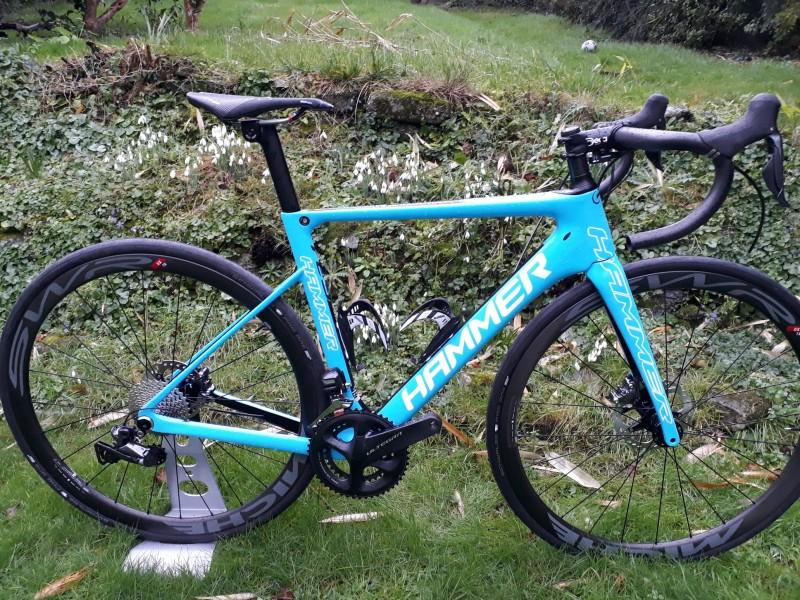 Hammer Sports launch their New Hammer Te3 Disc Aero Road Bike