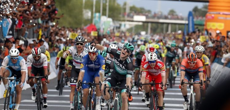 Sam Bennett takes Stunning Victory after Brilliant BORA-hansgrohe Team effort on Vuelta a San Juan Final Stage