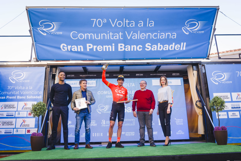 Greg Van Avermaet triumphs in the Third Stage of the Vuelta a Comunitat Valenciana