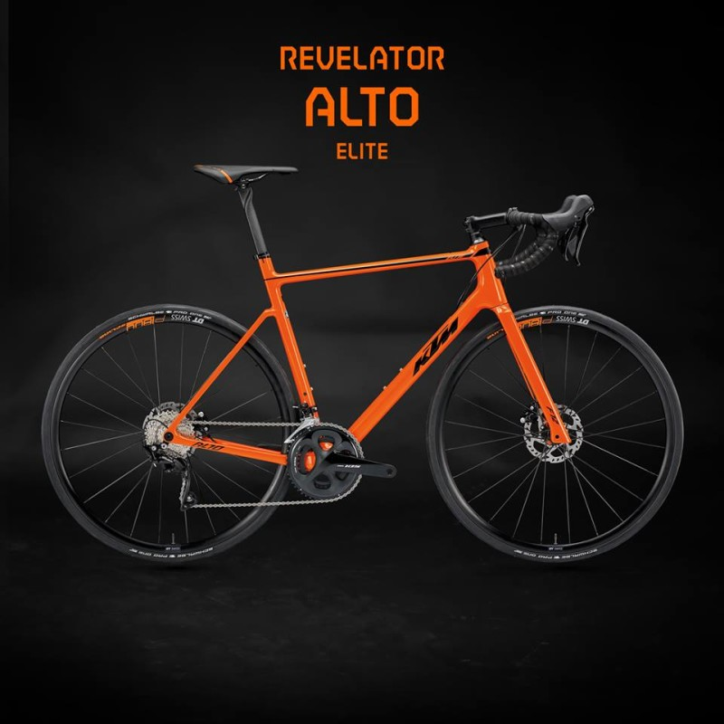 New Road Bike from KTM - Revelator Alto Elite
