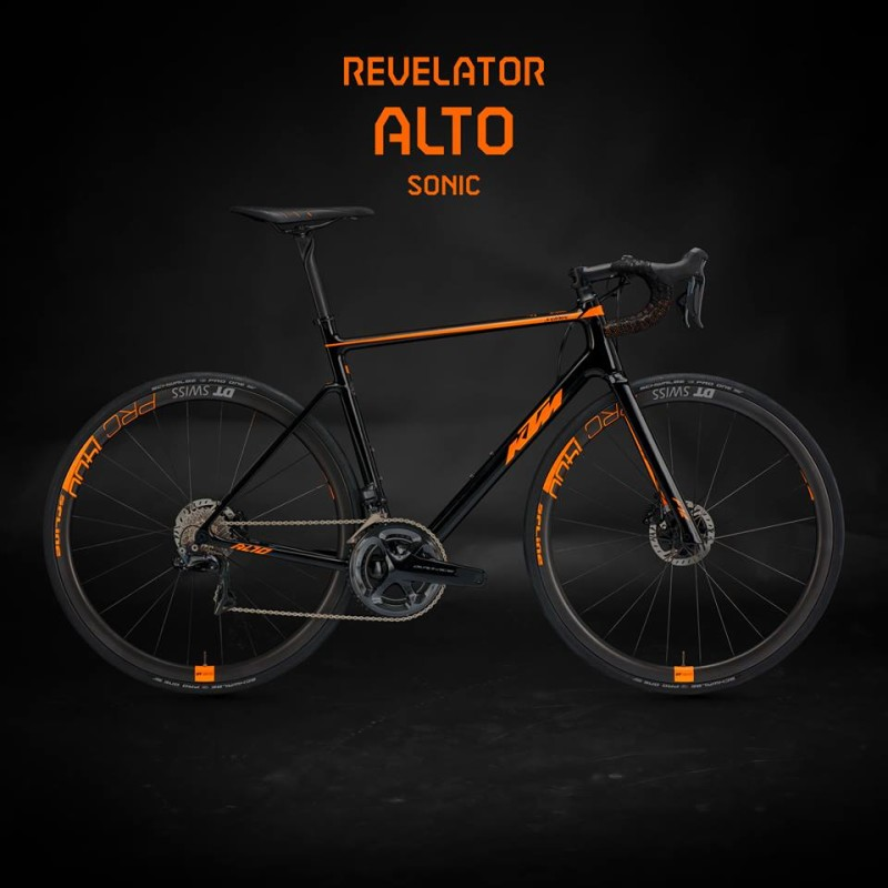 New KTM Product Launch - Revelator Alto Sonic Road Bike