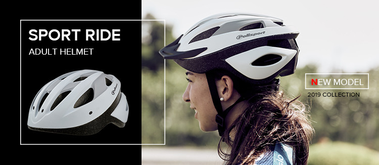 Polisport Sport Ride - New Adult Helmet