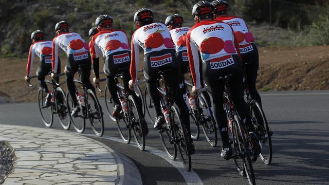 Discover Giro line-up from Lotto-Soudal Cycling Team 24a58d843