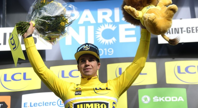 Groenewegen in Yellow after Victory in the Opening Stage of Paris-Nice