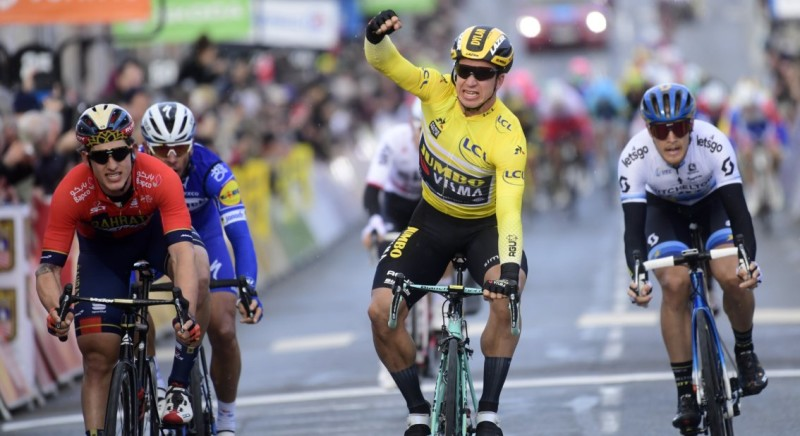Groenewegen Conquers Echelons to Clinch Second Consecutive Victory in Paris-Nice