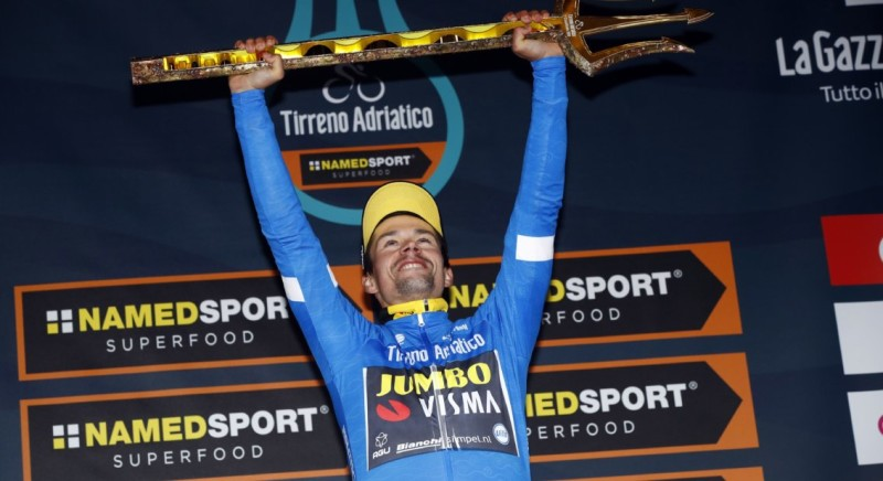Roglic Wins Tirreno-Adriatico with Margin of Less than a Second