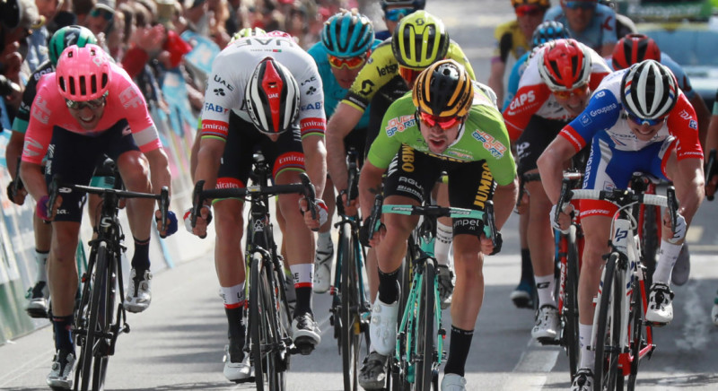 Stage Win and Overall Lead for Roglic in First Stage Tour de Romandie
