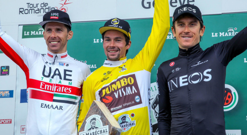 Stage and Overall Win for Roglic in Romandie
