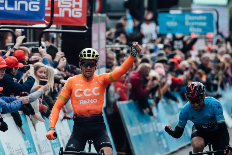 Van Avermaet Sprints to Tour de Yorkshire Stage Win and Second Overall