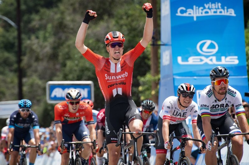 Cees Bol Sprints to Resounding Victory in Final Stage of California