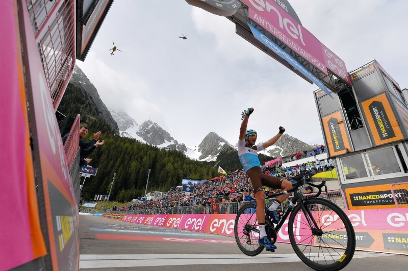 Giro d'Italia (Stage 17): Victory for Nans Peters!