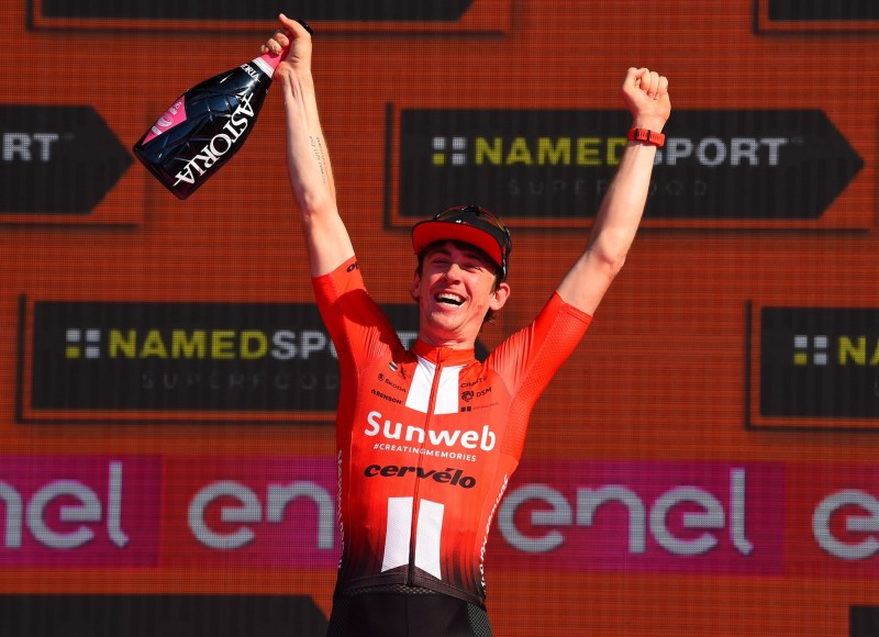 Chad Haga Takes Sublime Time Trial Win in Giro d'Italia Finale