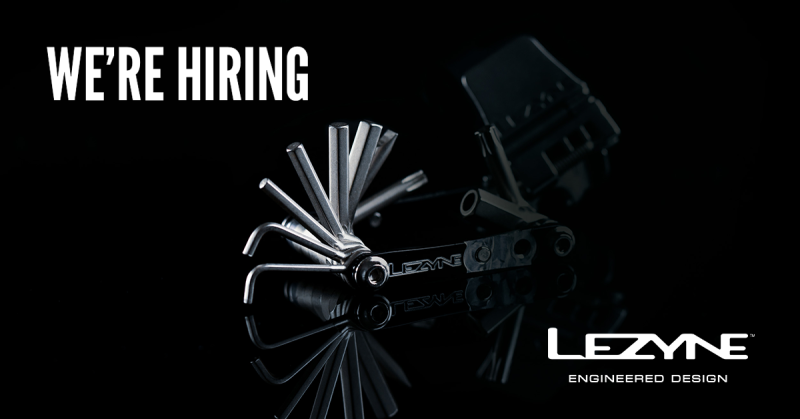 Job Offer by Lezyne - Graphic Design & Multimedia Specialist