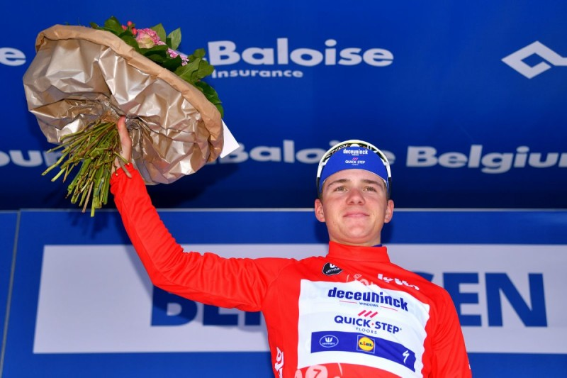 Remco Evenepoel Wins the Belgium Tour