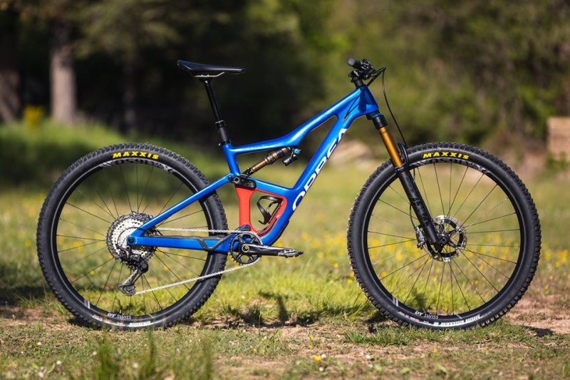 Orbea Launched the New Occam Full Suspension Trail Bike