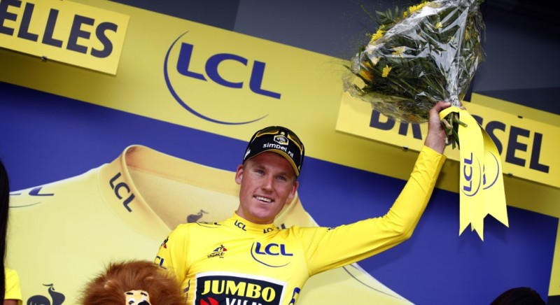 Teunissen Amazes with Stage Victory and First Yellow Jersey in Tour de France