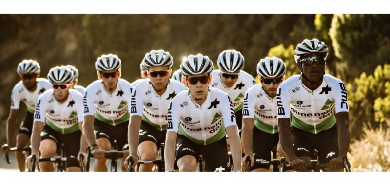 Team Dimension Data for Qhubeka Partners with Normatec