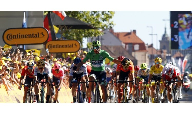Peter Sagan Sprints to Commanding Victory in Colmar after Brilliant BORA-hansgrohe Teamwork on Tour de France Stage 5
