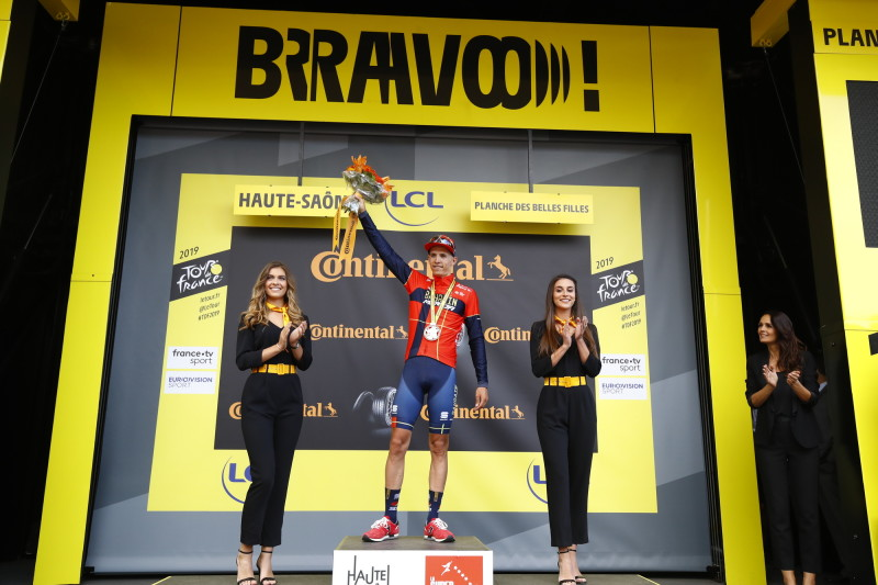 Dylan Teuns Claimed the Debut Victory at Le Tour de France