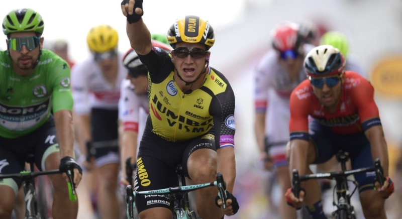 Groenewegen Sprints to Stage Victory in the Tour de France