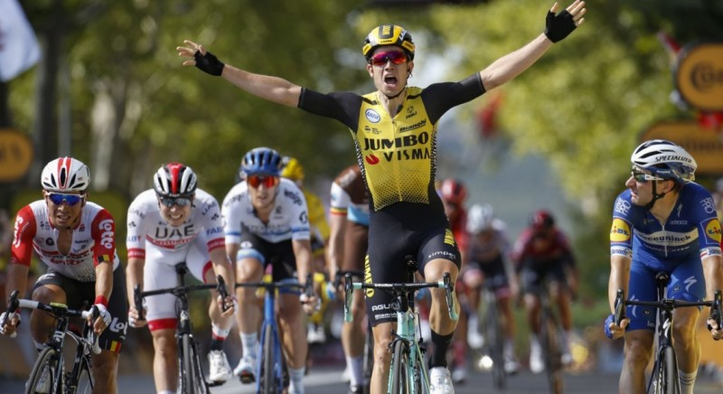 Van Aert Wins in Mass Sprint After Exhausting Tour Stage