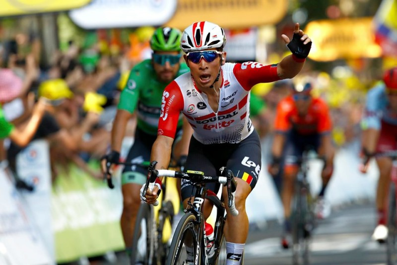 Caleb Ewan Sprints to Maiden Tour de France Stage Victory!