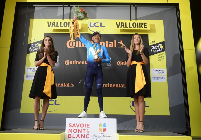 Nairo Quintana Notches up Third Career TDF Stage Win