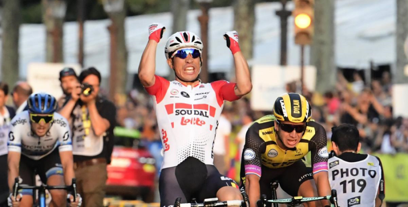 Ewan Concludes Phenomenal Tour Debut with Champs-Elysées Victory!