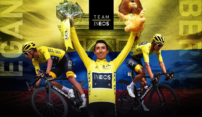 Egan Bernal Takes Tour de France Victory