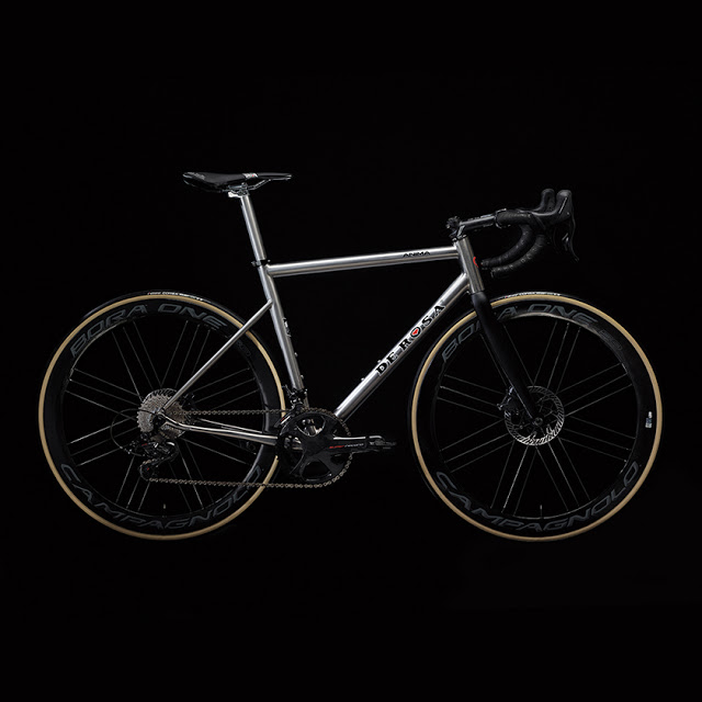 Anima, the New Titanium Road Bike from De Rosa