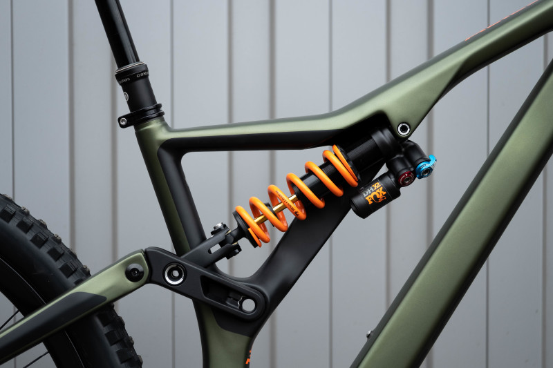 2020 Orbea Rallon Suspension Updates