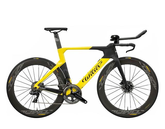 Meet the New Turbine Triathlon/Time Trial Bike from Wilier