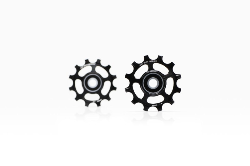 New CeramicSpeed 12-Tooth Pulley Wheels for SRAM Red/Force AXS