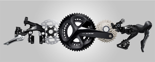 Introducing the New 105 R7000 Road Groupset from Shimano